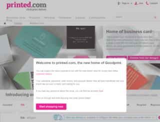 Access testgoodprint business cards at printed square testgoodprint screenshot reheart Gallery