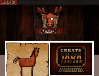 test.javaranch.com screenshot