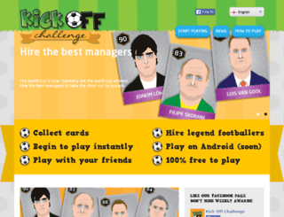 test.kickoffchallenge.com screenshot
