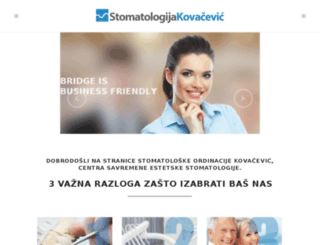 test.stomatologijakovacevic.com screenshot