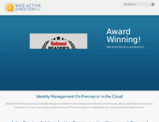 test.webactivedirectory.com screenshot