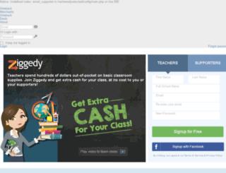 test.ziggedy.com screenshot