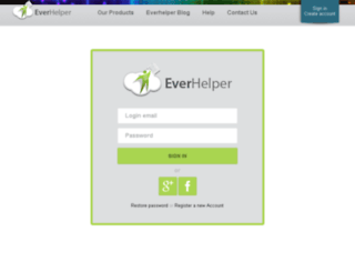 testadmin.everhelper.me screenshot