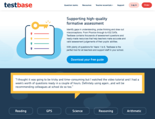 testbase.co.uk screenshot