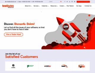 testbytes.net screenshot