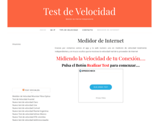 testdevelocidad.co screenshot