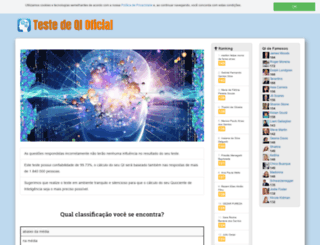 testedeqi.org screenshot