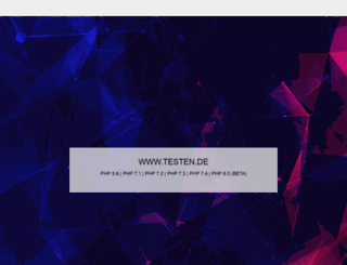 testen.de screenshot