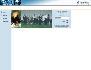 testfirsthiring.com screenshot