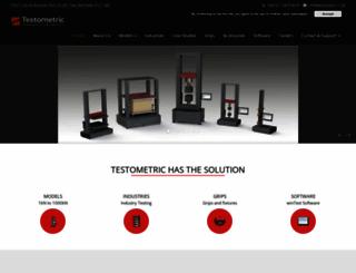 testometric.co.uk screenshot