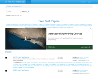 testpapers.com.sg screenshot