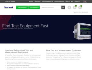 testwall.com screenshot
