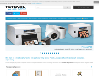 tetenal.com.pl screenshot