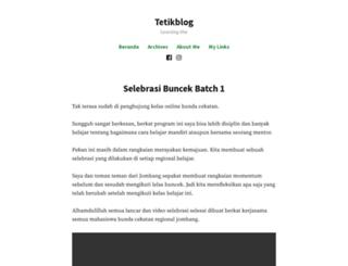 tetikfirawati.wordpress.com screenshot