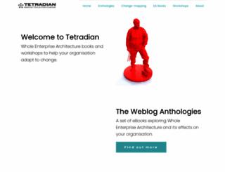 tetradian.com screenshot