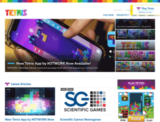 tetris.it screenshot