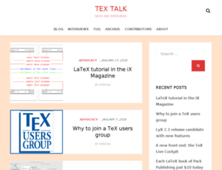 tex.blogoverflow.com screenshot