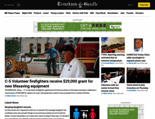 texarkanagazette.com screenshot