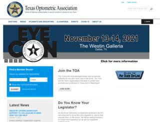 texas.aoa.org screenshot