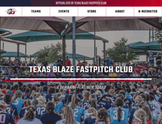texasblaze.org screenshot