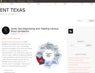 texasentandallergy.blog.com screenshot