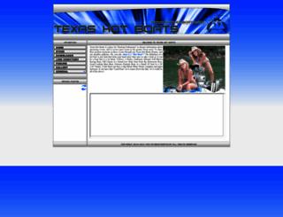texashotboats.com screenshot