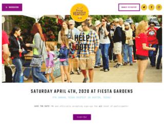 texasvegfest.com screenshot