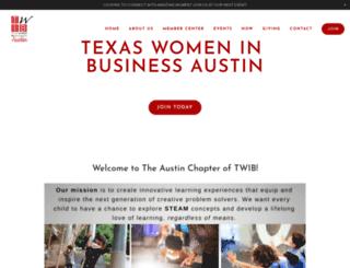 texaswomeninbusiness.org screenshot