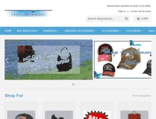 texcynwallets.com screenshot
