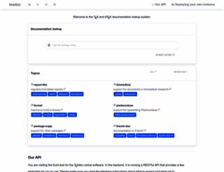 texdoc.net screenshot