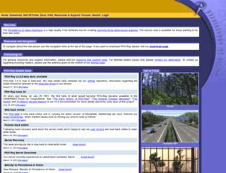 texlib.povray.org screenshot