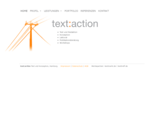 textaction.com screenshot