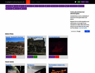 textadventures.co.uk screenshot