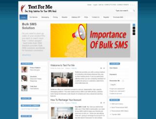 textforme.com screenshot