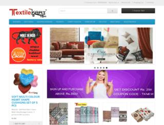 textilekart.com screenshot