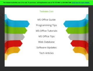 textndata.com screenshot