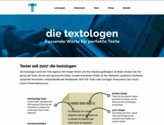 textologen.de screenshot