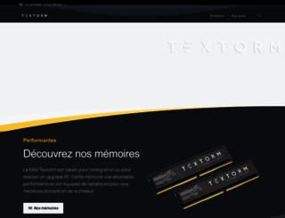 textorm.com screenshot
