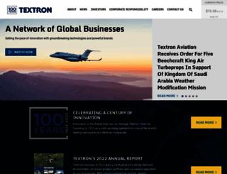 textron.com screenshot