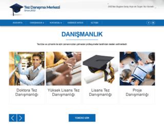 tezdanismamerkezi.com screenshot