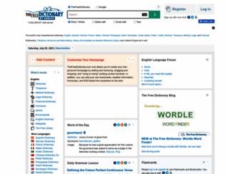 tfd.com screenshot