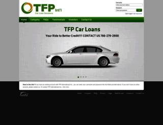 tfpinternational.autopal.info screenshot