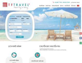 tftravel.com.vn screenshot