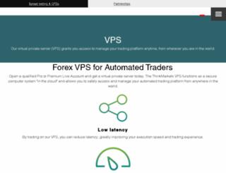tfxvps.com screenshot