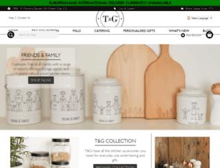 tg-woodware.com screenshot