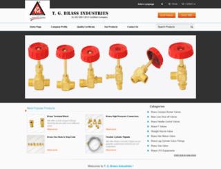 tgbrass.com screenshot