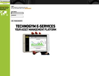 tgdirect.technogym.com screenshot