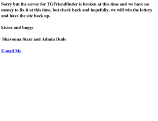 tgfriendfinder.com screenshot