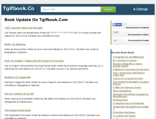 tgifbook.com screenshot