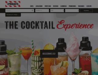tgifridays.es screenshot